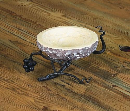 Vineyard Stone Bowl Server