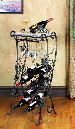 Vineyard 16 Bottle Wine Rack Server