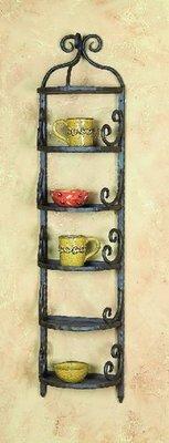 Siena Wall 5 Shelf