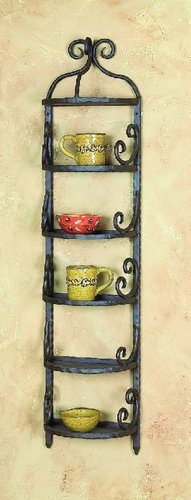 Siena Wall 5 Shelf