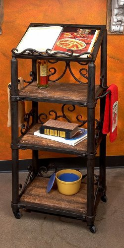 Siena Floor Cookbook Holder