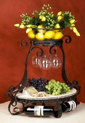 Amalfi Wine and Cheese Server