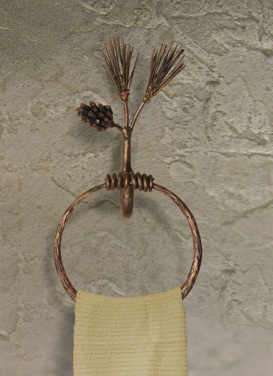 Pine Towel Ring