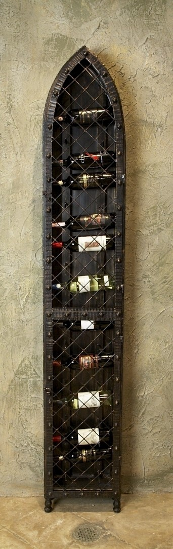 19 Bottle Wine Wall Rack