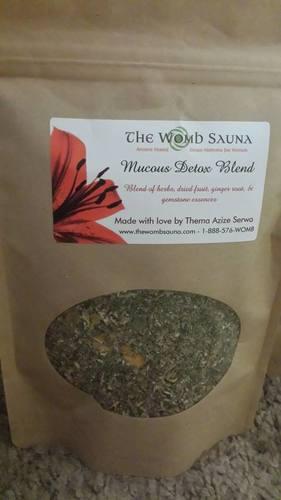 5 Prepacked 8 oz herbs for Resale- Mucous Detox Blend