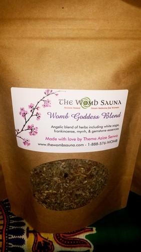 5 Prepacked 4 oz herbs for Resale- Womb Goddess Blend