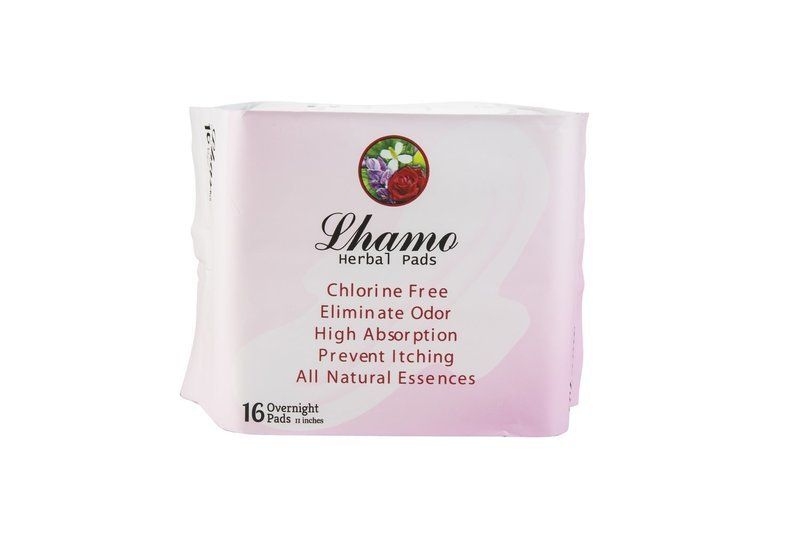 Lhamo Herbal Pads OVERNIGHT ONLY