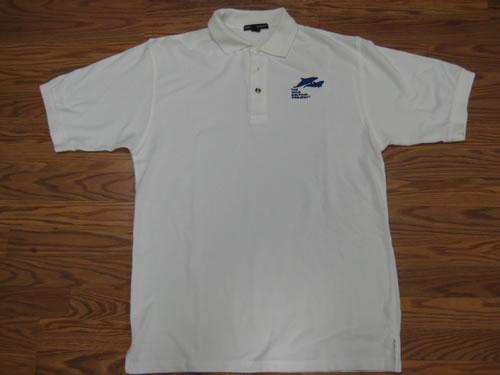 Polo - White Collared Shirt