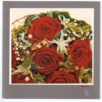 Fotokarte Hochzeit Quadrat