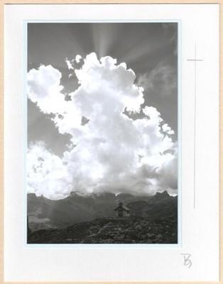 Fotokarte Trauerkarte