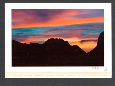 Mit Licht Malen Fotokarte