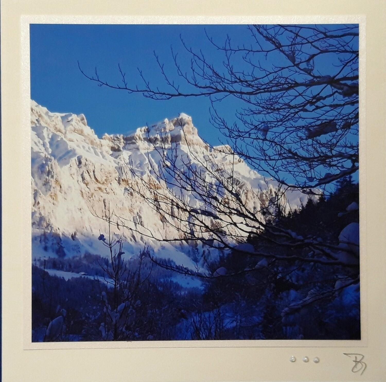 Bergwelten Fotokarte Heuberg Forstberg Quadrat