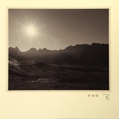 Bergwelten Fotokarte  Glattalp Quadrat