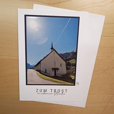Fotokarte Trauerkarte B6