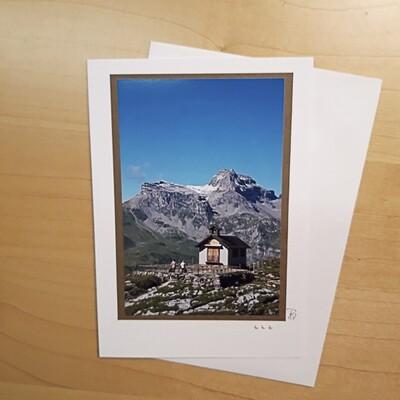 Fotokarte Trauerkarte Glattalp B6
