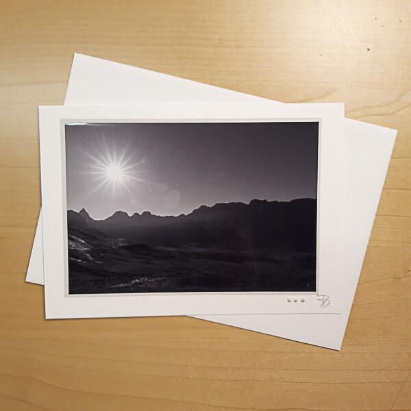 Bergwelten Fotokarte C5