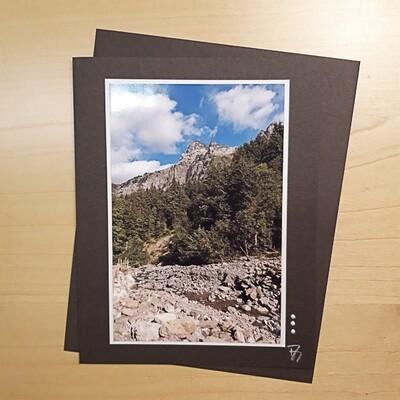 Bergwelten Fotokarte Heuberg