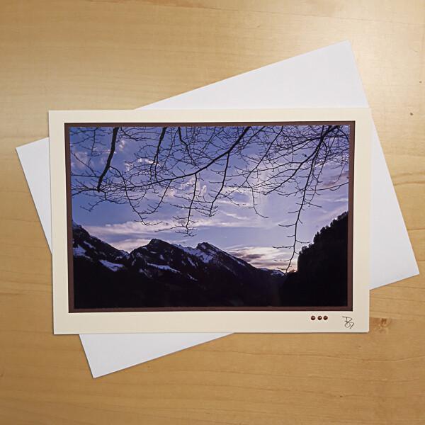 Mit Licht Malen Fotokarte C5