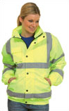 Hi-Vis Bomber Safety Jacket