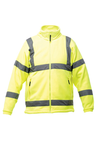 Hi-Vis Soft Shell Fleece Jacket
