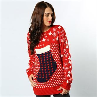 3D Christmas jumper