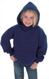 Embroidered Unisex Childrens Hooded SweatShirt