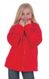 Embroidered Unisex Childrens Fleece Jacket