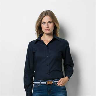 Embroidered Ladies Oxford Shirt