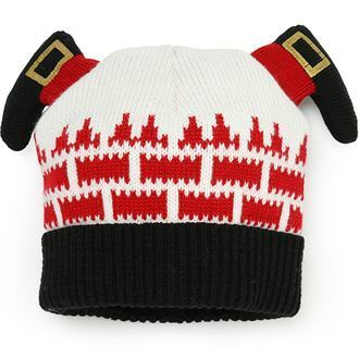 Santa Down the  Chimney Beanie