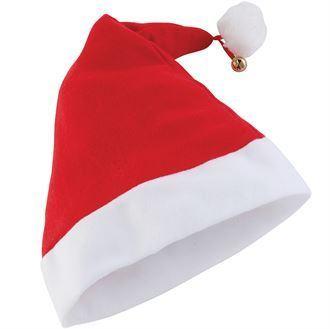 Premium Santa Hat With Bell