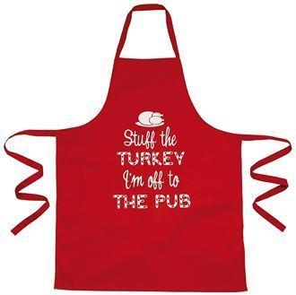 Christmas apron -
