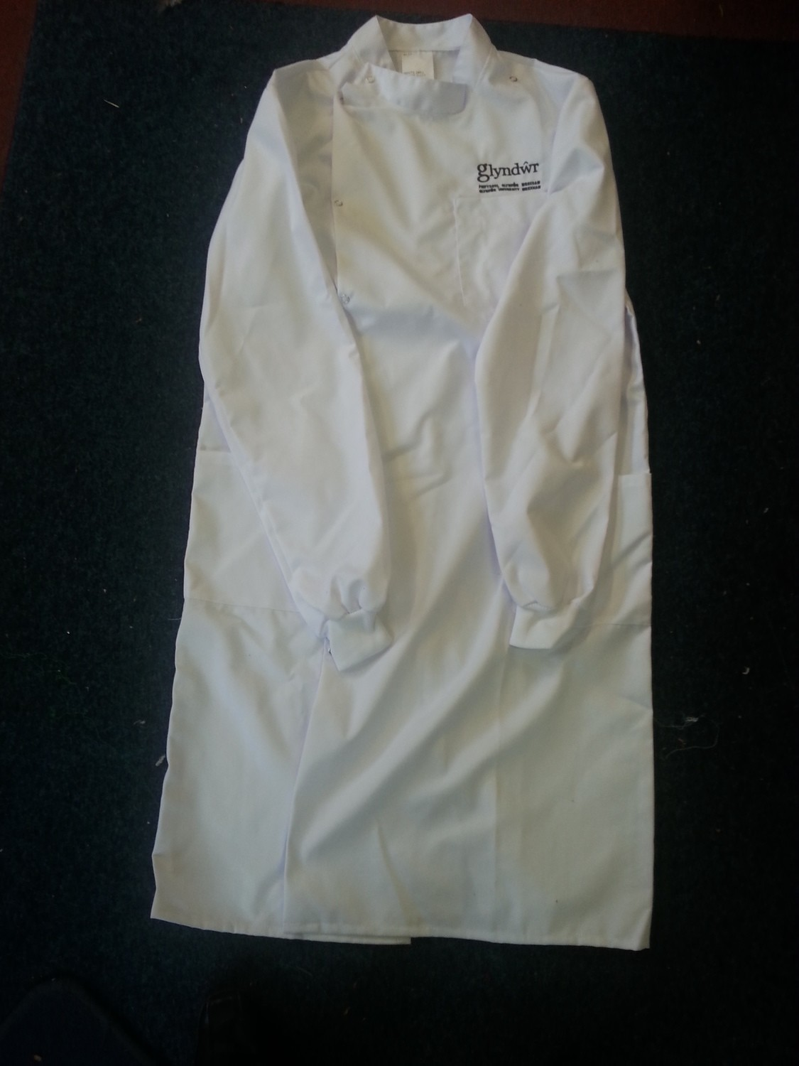 Embroidered Howie Style Lab Coat