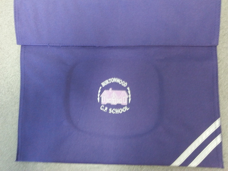 Burtonwood Primary Book Bag