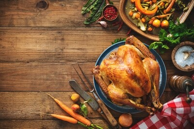 Limited Edition Turkey Rosemary Holiday Bone Broth