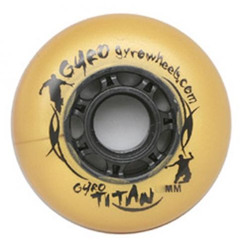 Колеса для роликов Gyro Titan Gold 4шт 00091