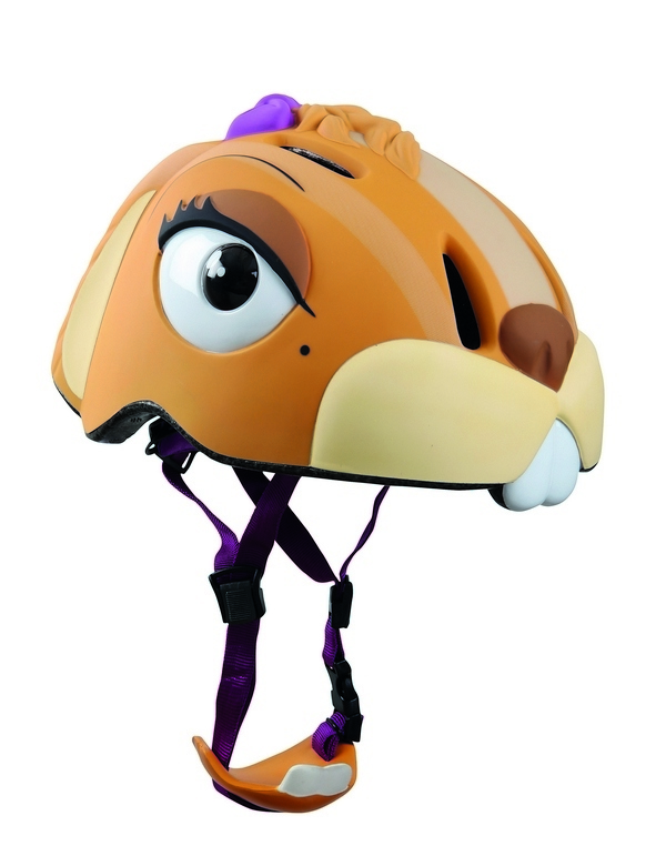 Детский шлем с регулировкой Crazy Safety - Белка