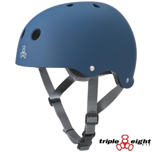 Шлем Triple Eight Brainsaver CPSC-Certified Helmet Rubber