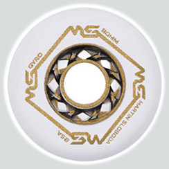 Колеса для роликов Gyro MS Gold (black/white) 4шт