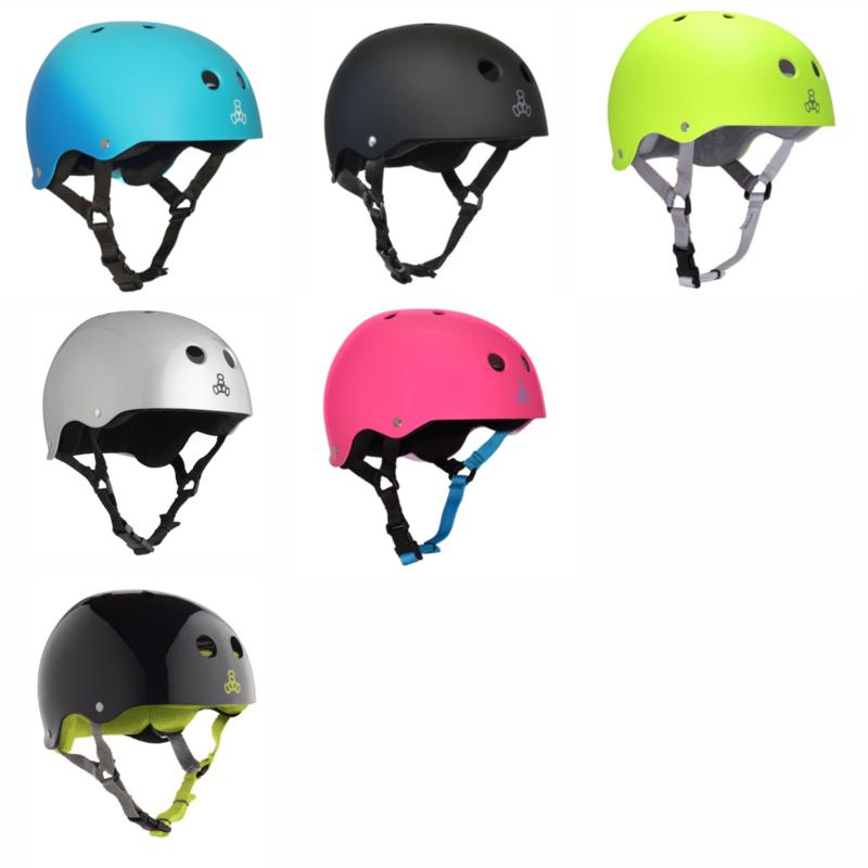 Шлем Triple Eight Brainsaver Sweatsaver Helmet - NEW Colours