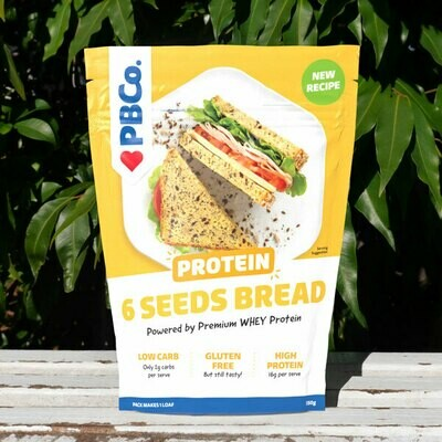 Protein Bread Pouch Seed (6 pouches X 350g)