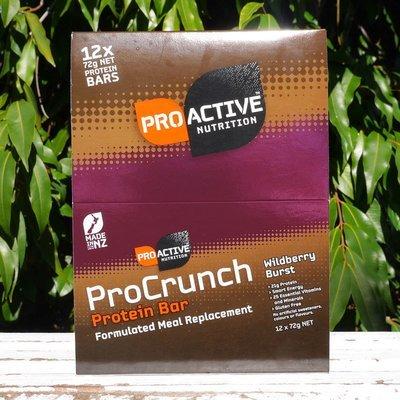 Procrunch Bars Wildberry (12 x12) 72g