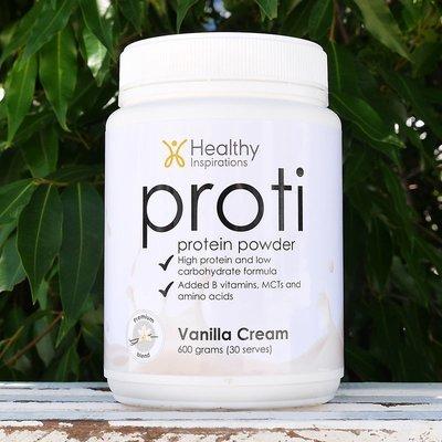 Proti Powder Vanilla (12 pots x 600gm)