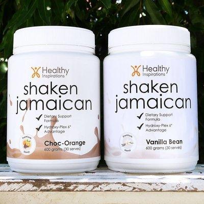 Shaken Jamaican (6 x Choc Orange/6 x Vanilla Bean)