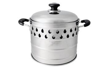 Silverfire Dragon Pot with Steam Basket