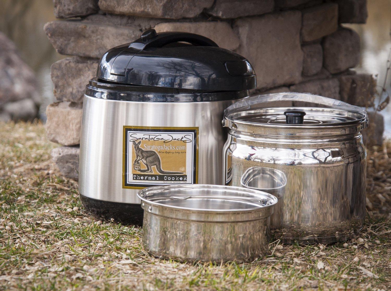 PRE-ORDER / 4-PACK - SaratogaJacks 5.5 Liter Thermal Cooker