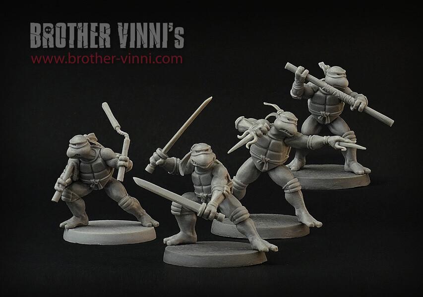 Turtles (4 models)