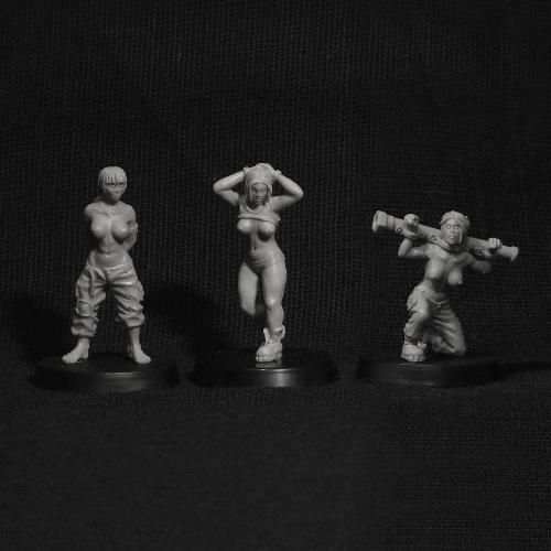 Prisoners of War (3 pcs)
