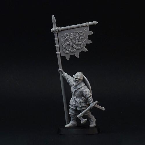 Viking Standard Bearer