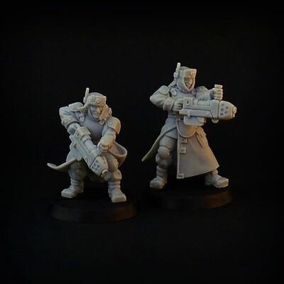 Plasma Rifles (2 pcs)