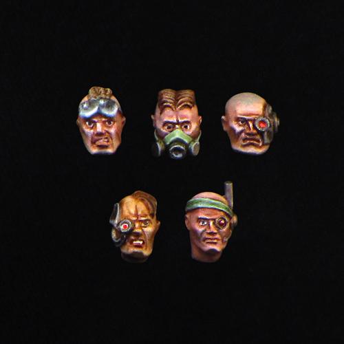 Male Combat Heads 02